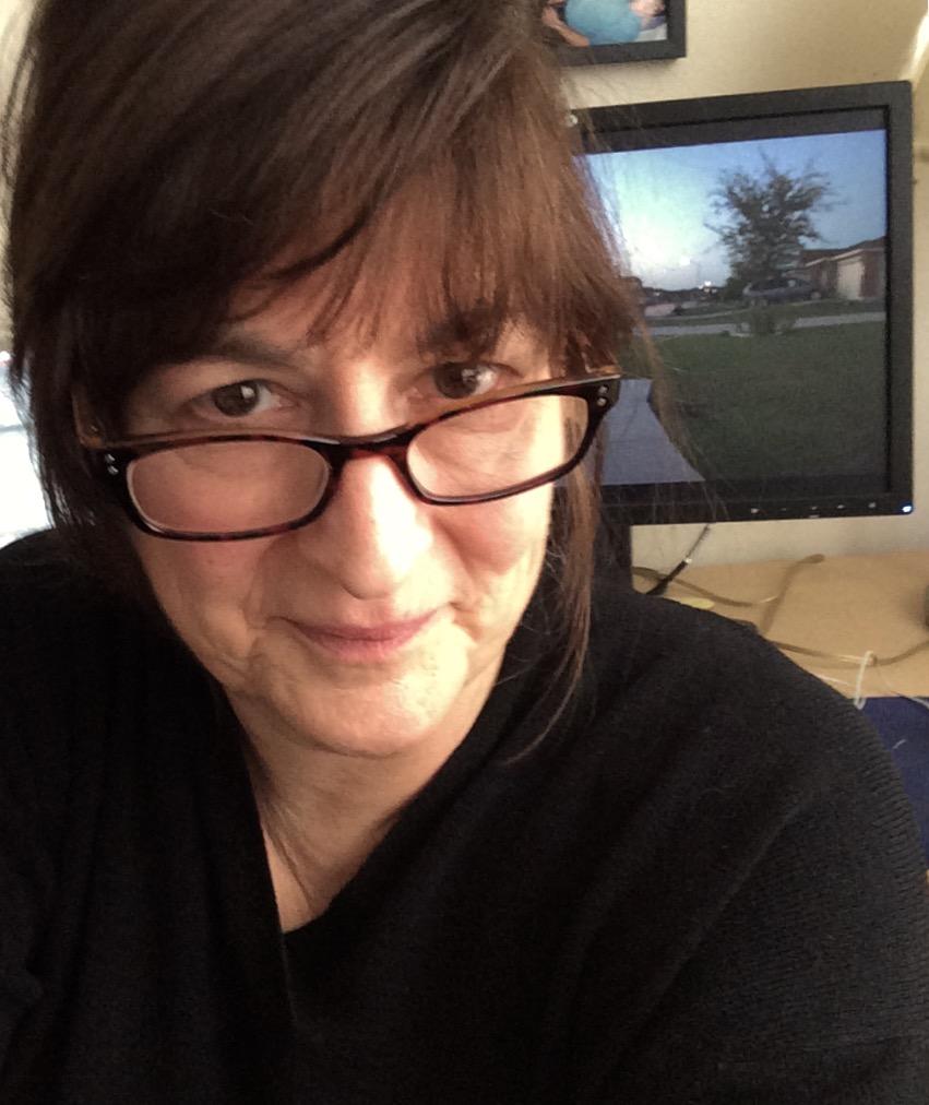Mona Davis Editor of Wrestling Ghosts