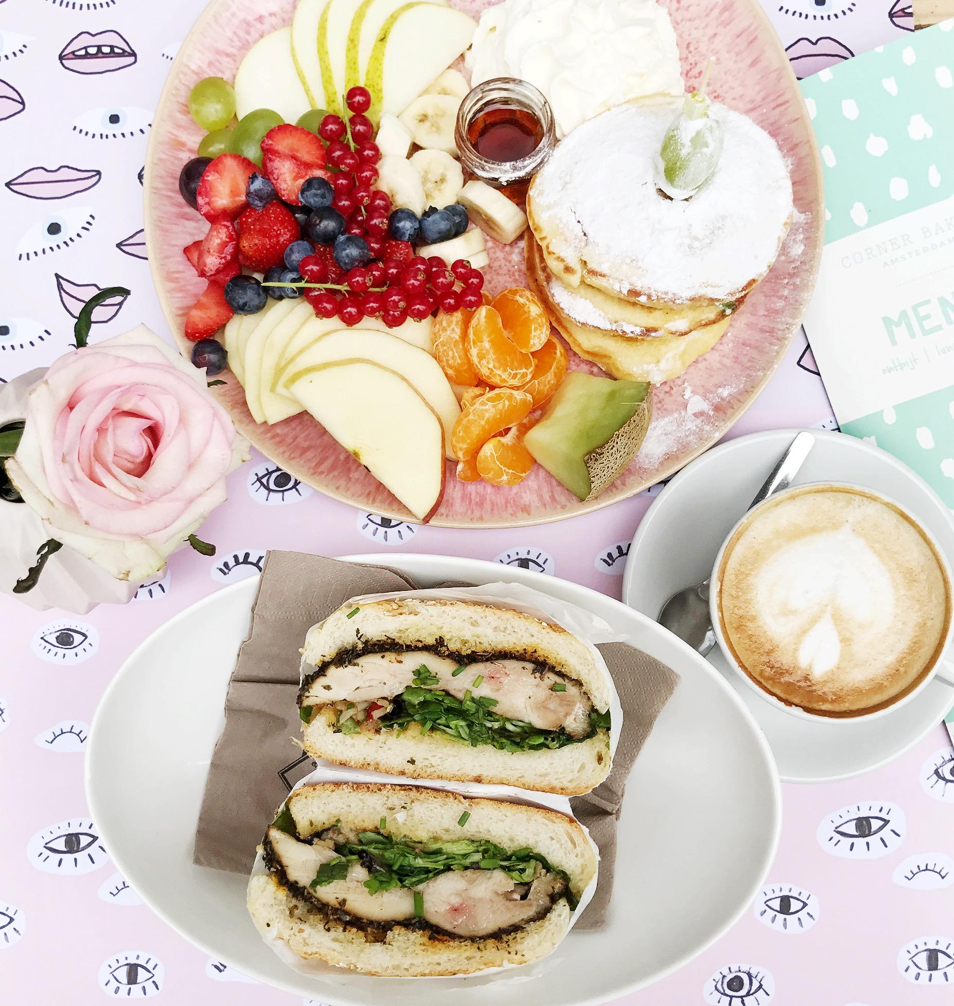 Corner Bakery - all day breakfast hotspot