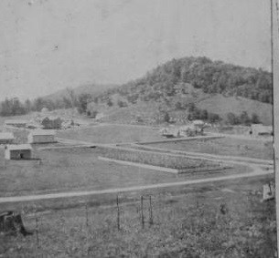 The town of Linville, North Carolina, ca. 1895