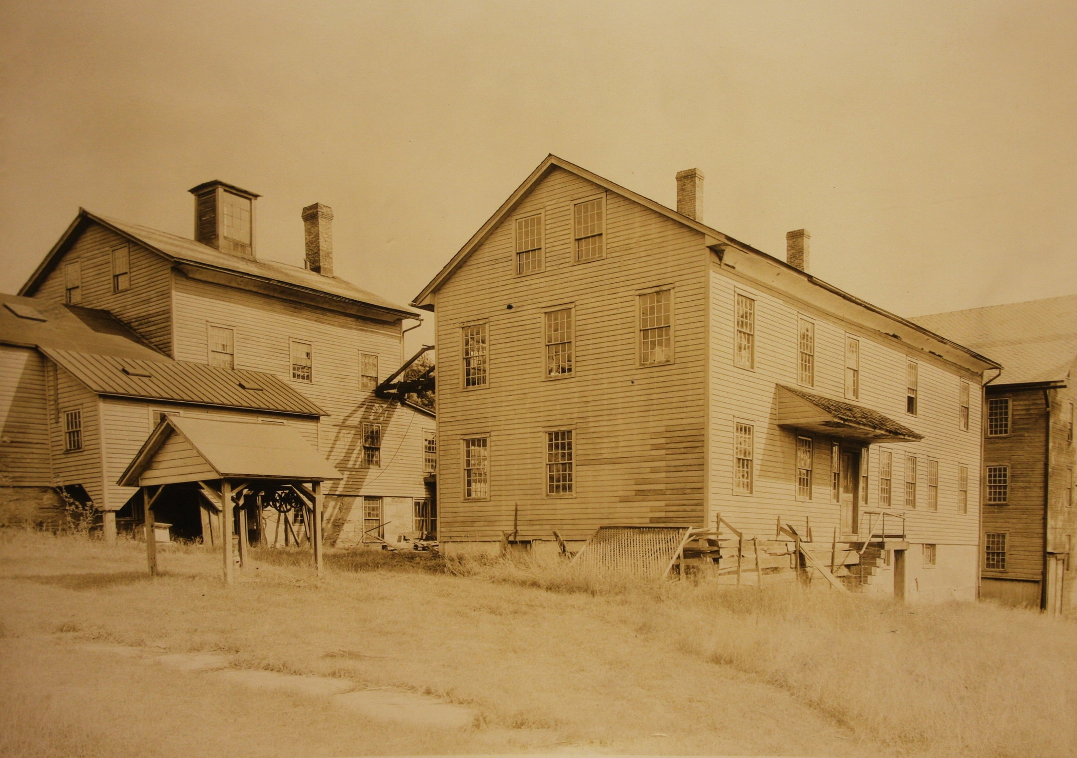 The Herb House at New Lebanon, ca. 1890. Where plants were processed into pharmaceutical products. Edward Andrews Collection, Winterthur Museum, Garden, and Library.