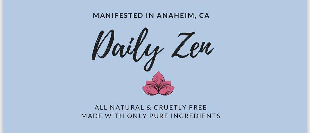 Daily Zen Skin Care was created for all skin types, anyone who wants to improve stretch marks, eczema, or even just their daily skin care. Natural ingredients with no preservatives are important to us considering how much natural pollution we are all exposed to in our everyday life. Daily Zen's goal is to become a part of your everyday skin regimen at an affordable price while keeping what you're putting on your body as natural as possible!In the busy world we live in today, we all tend to forget how important self care is. Daily Zen's mission to is help you find a little zen in each day and bask in our natural goodness! -