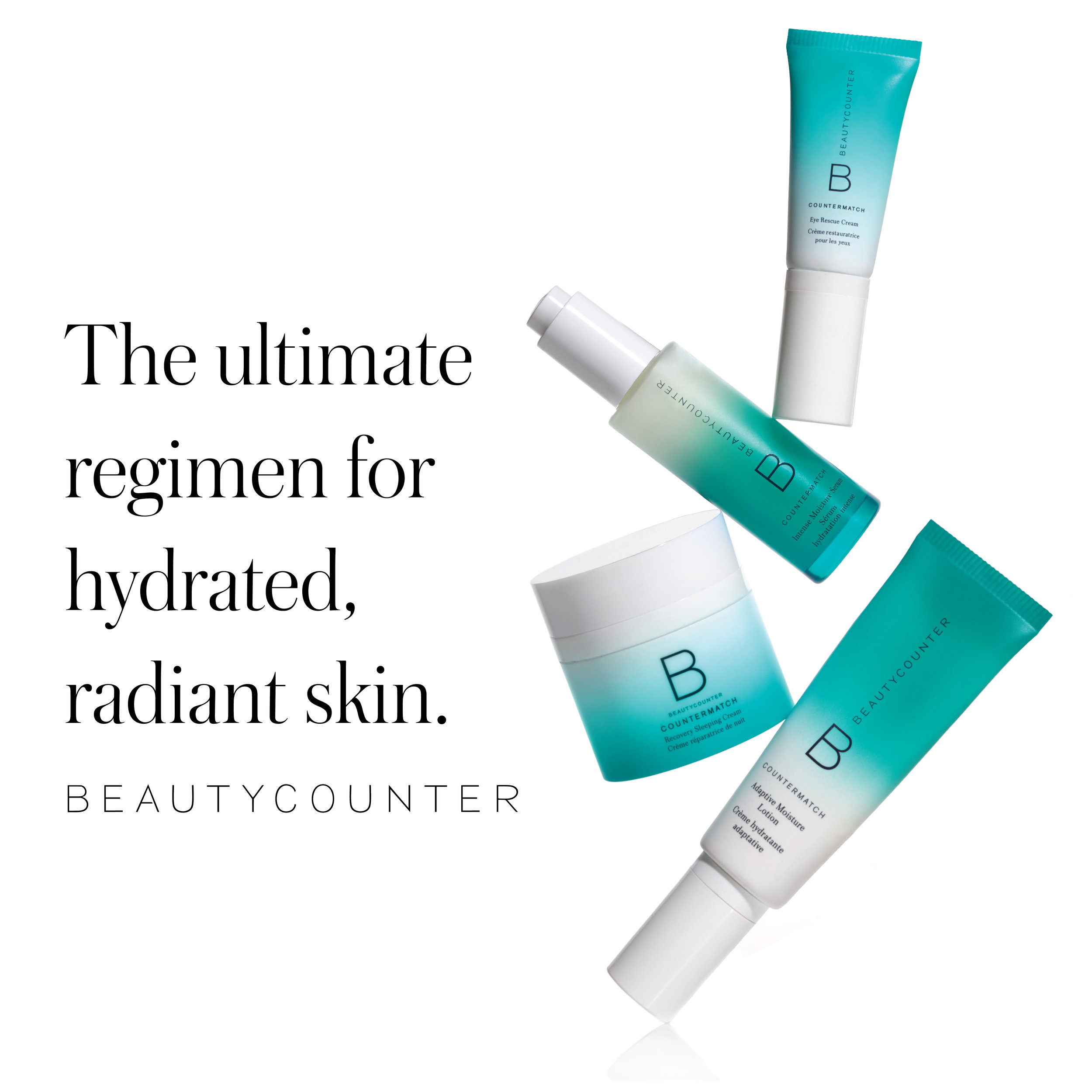 The CounterMatch Collection - One of my favorite collections for performance and price, The Countermatch Collection is the ultimate solution for hydrated, radiant, and youthful-looking skin, thanks to its age-preventing and vibrancy-boosting benefits. Powered by Bio-Mimic Technology, each product harnesses the unique life-giving properties of plants to match the composition of skin, giving it precisely what it needs and nothing it doesn't.