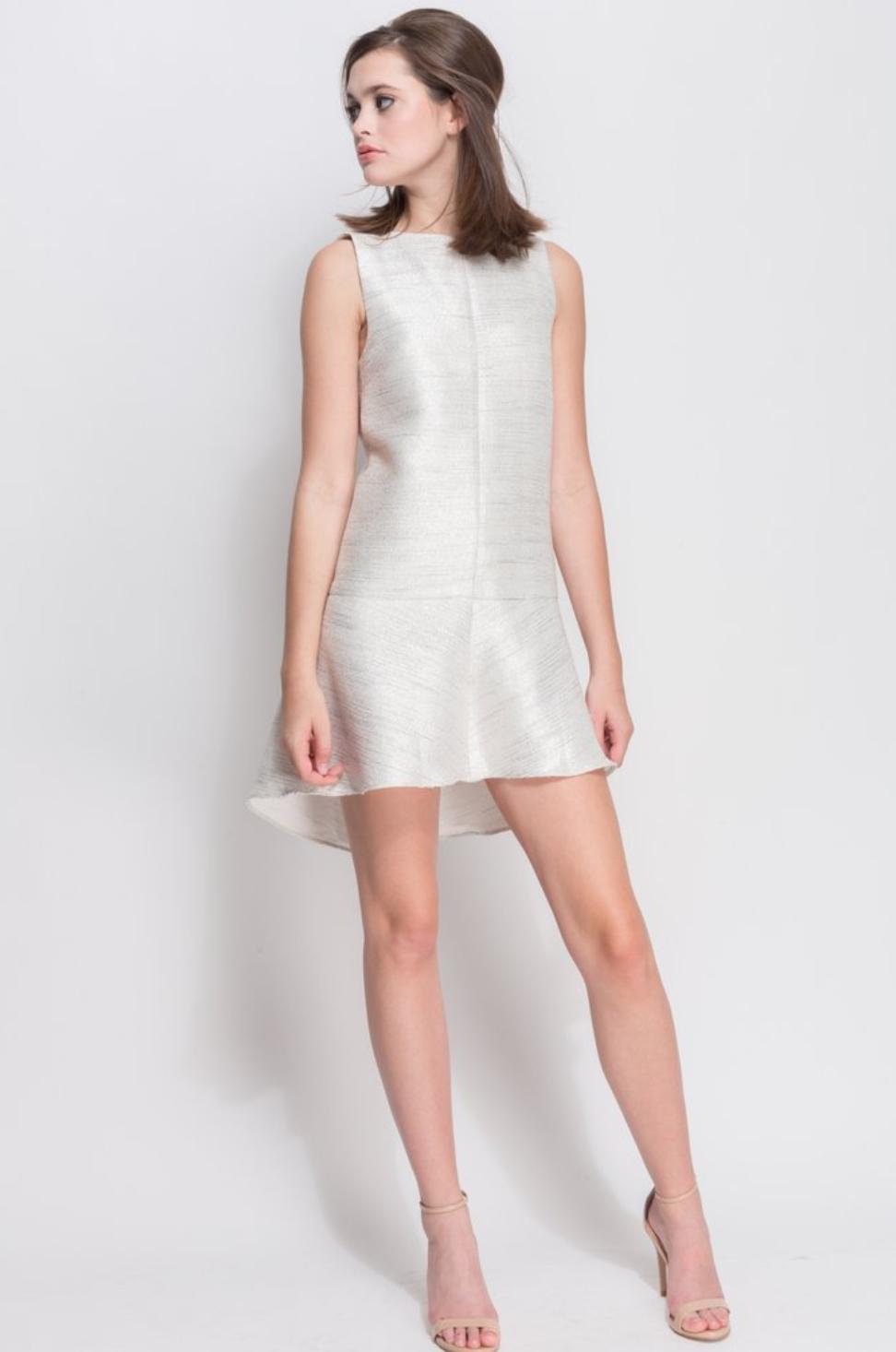 Mia • Silver Thread Tweed
