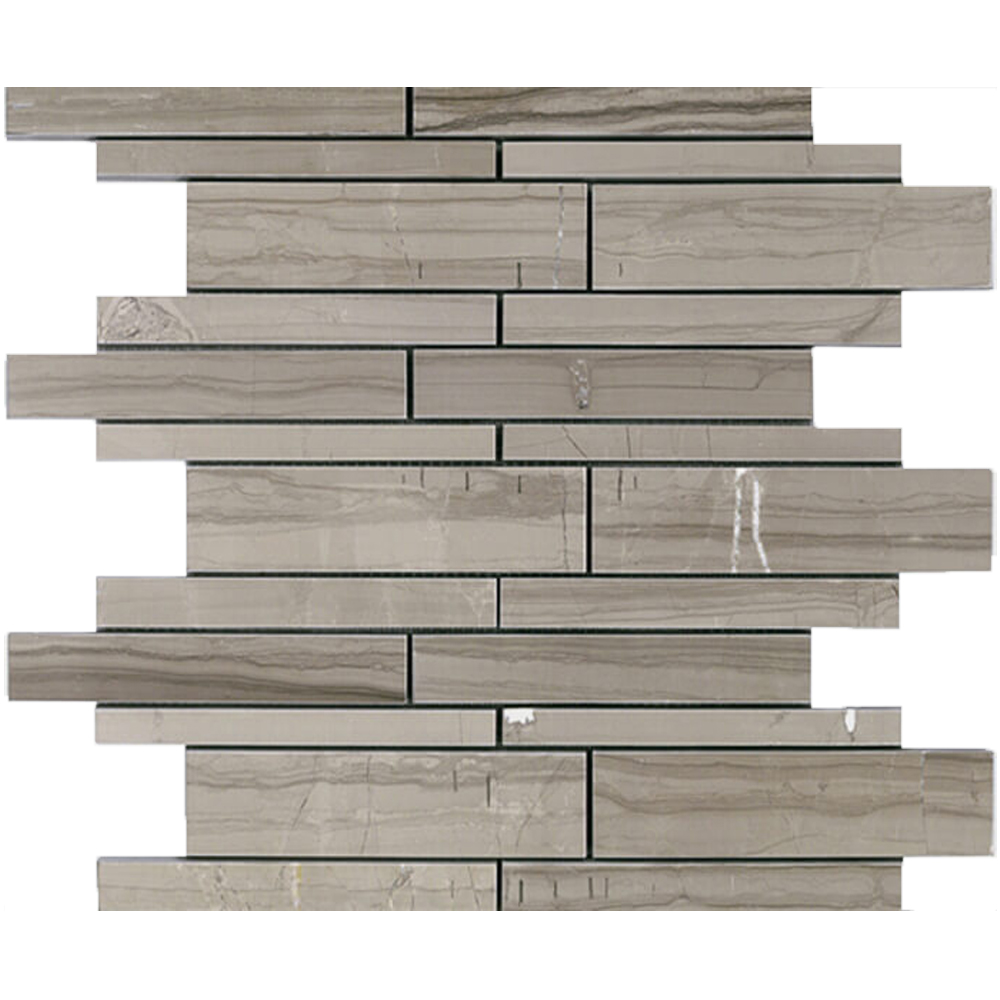 Polished Linear Stacked Mosaic