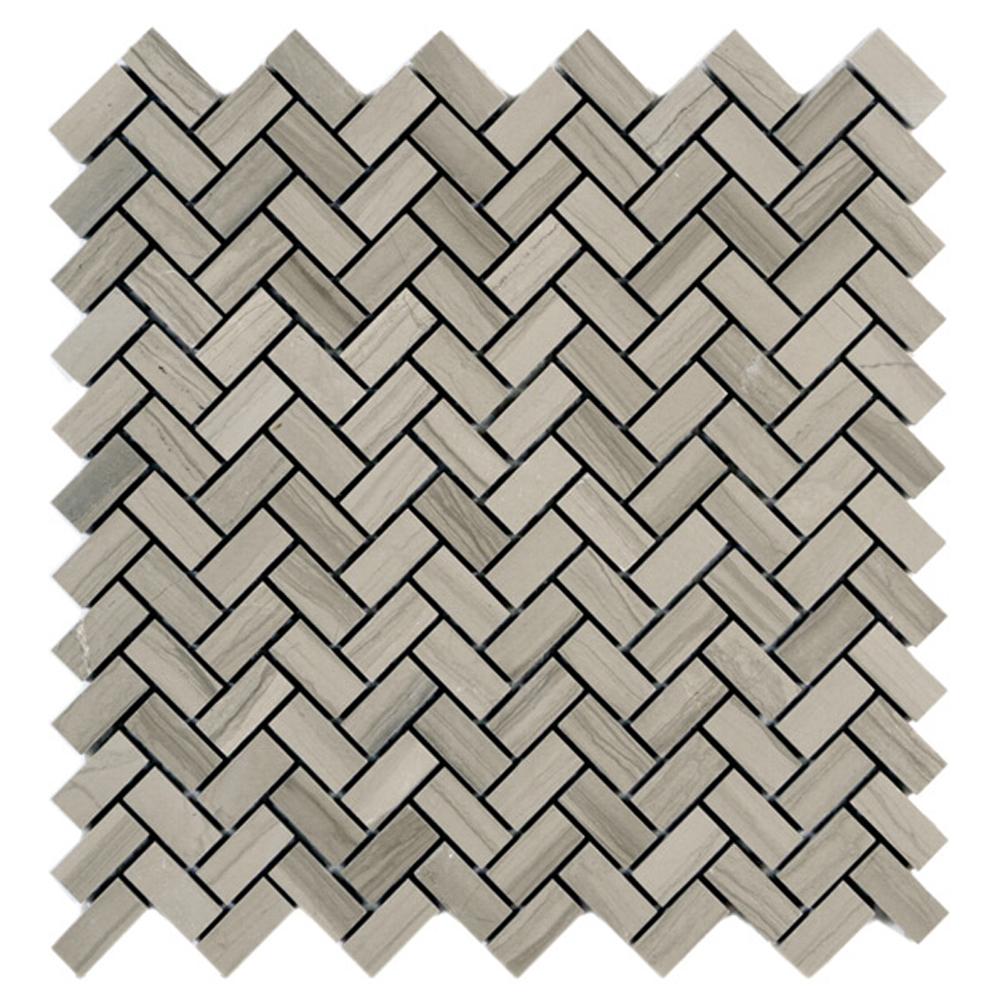 Polished Herringbone Mosaic