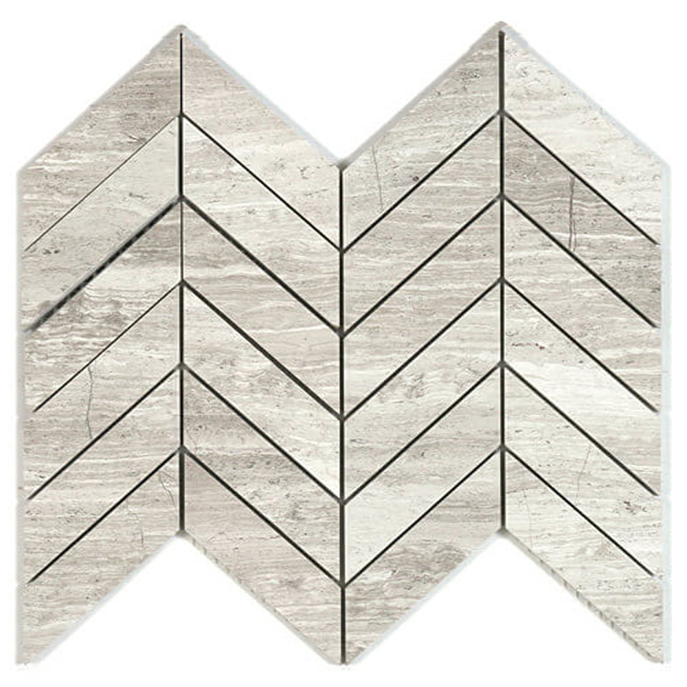 Chevron Mosaic  Polished | GM.BIA.WD.CHEV.0103 | IN STOCK