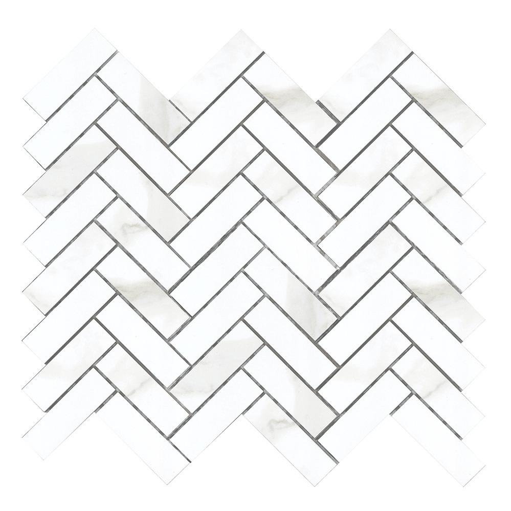 "1"" x 3"" Herringbone  Polished   OV.ET.CTP.1X3.PL.HER  Matte   OV.ET.CTP.1X3.MT.HER"