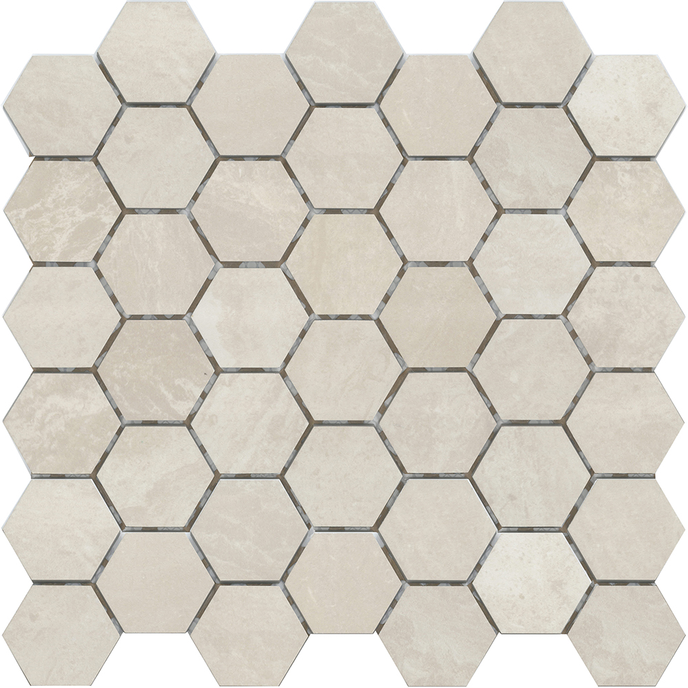 "2"" Hexagon  Polished 