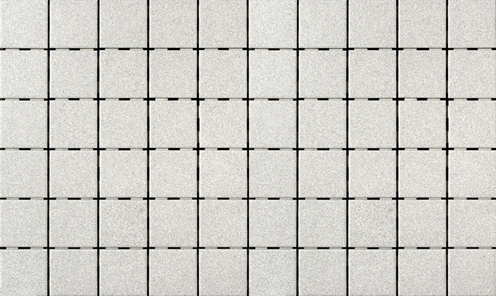 "Mottled Grey  2"" x 2"" 