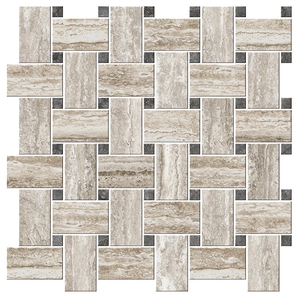 "Caldo Mosaic  16"" x 16"" | CI.II.CDO.1616.BL.MT"