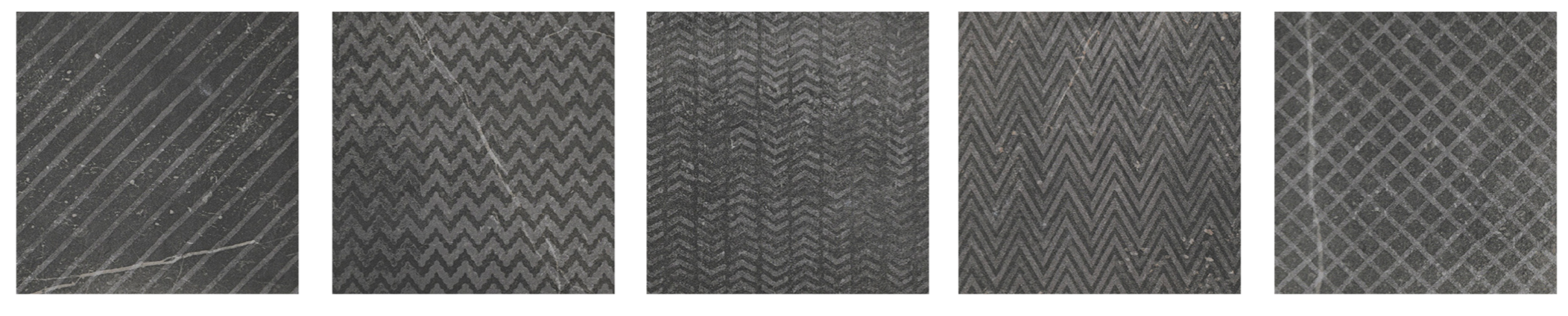 "Dark (Black) Decor  7.88"" x 7.88"" 