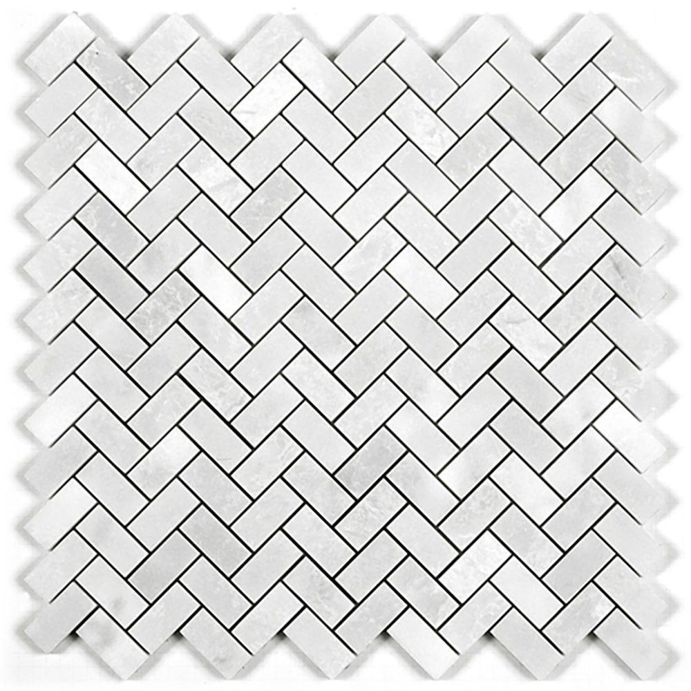 Herringbone Mosaic  Polished | GM.MIL.PRL.HER.BON