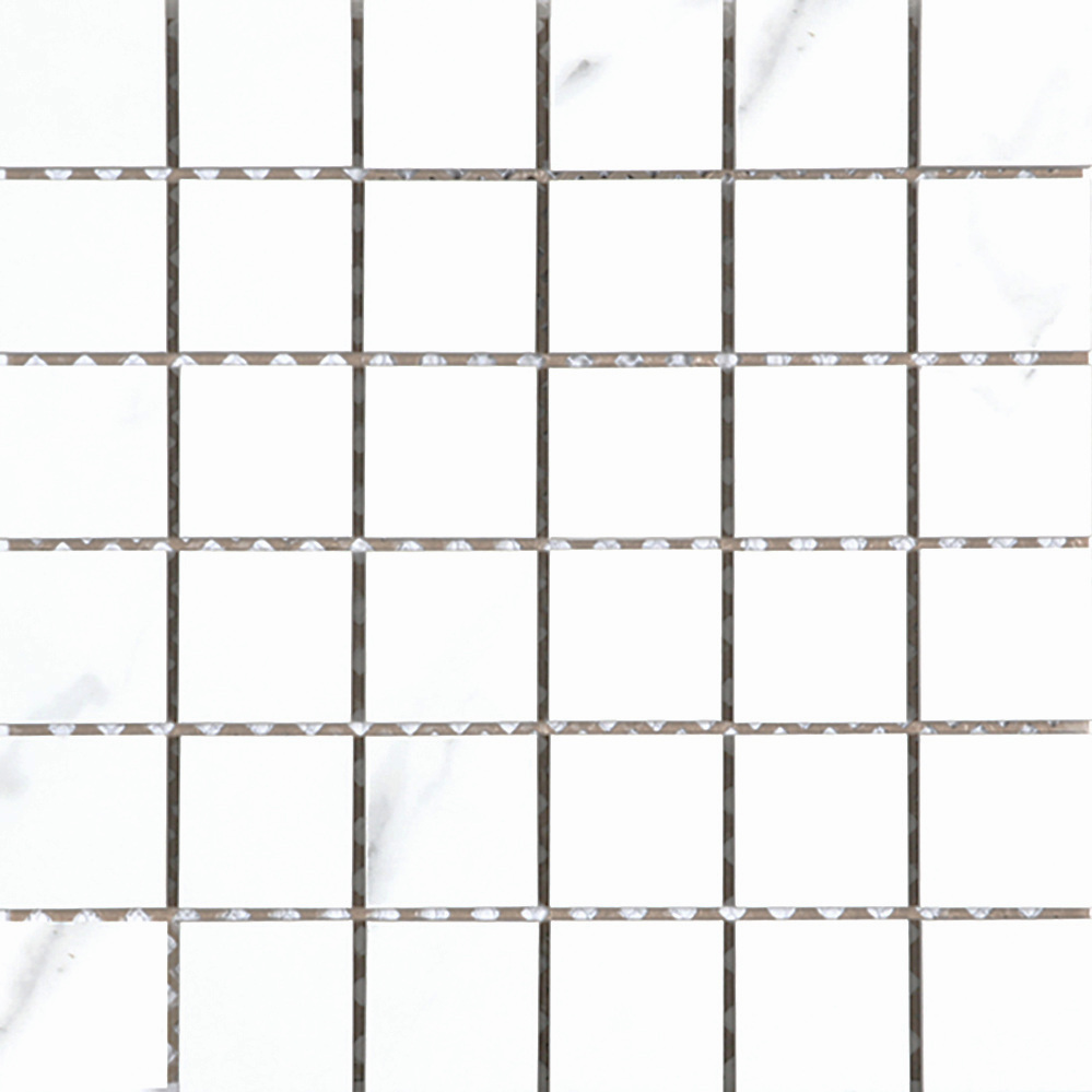 "2"" x 2"" Mosaic - White  Matte 