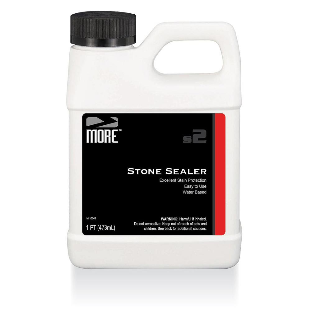 MORE™ STONE SEALER   A penetrating natural-look stone sealer that provides excellent stain protection.  PINT |MOR.S.SEALER-PT  QUART |MOR.S.SEALER-QT  1 GALLON |MOR.S.SEALER-GAL