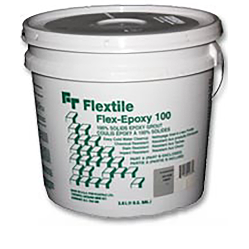 100 FLEX EPOXY   A 100% solids, two component water washable epoxy grout, consisting of two components; a hardening resin and a pre-mixed portion of epoxy resin, colour pigments and graded aggregate.