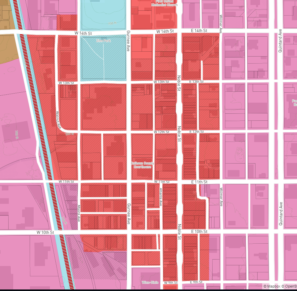 Urban Core and Historic District Boundaries