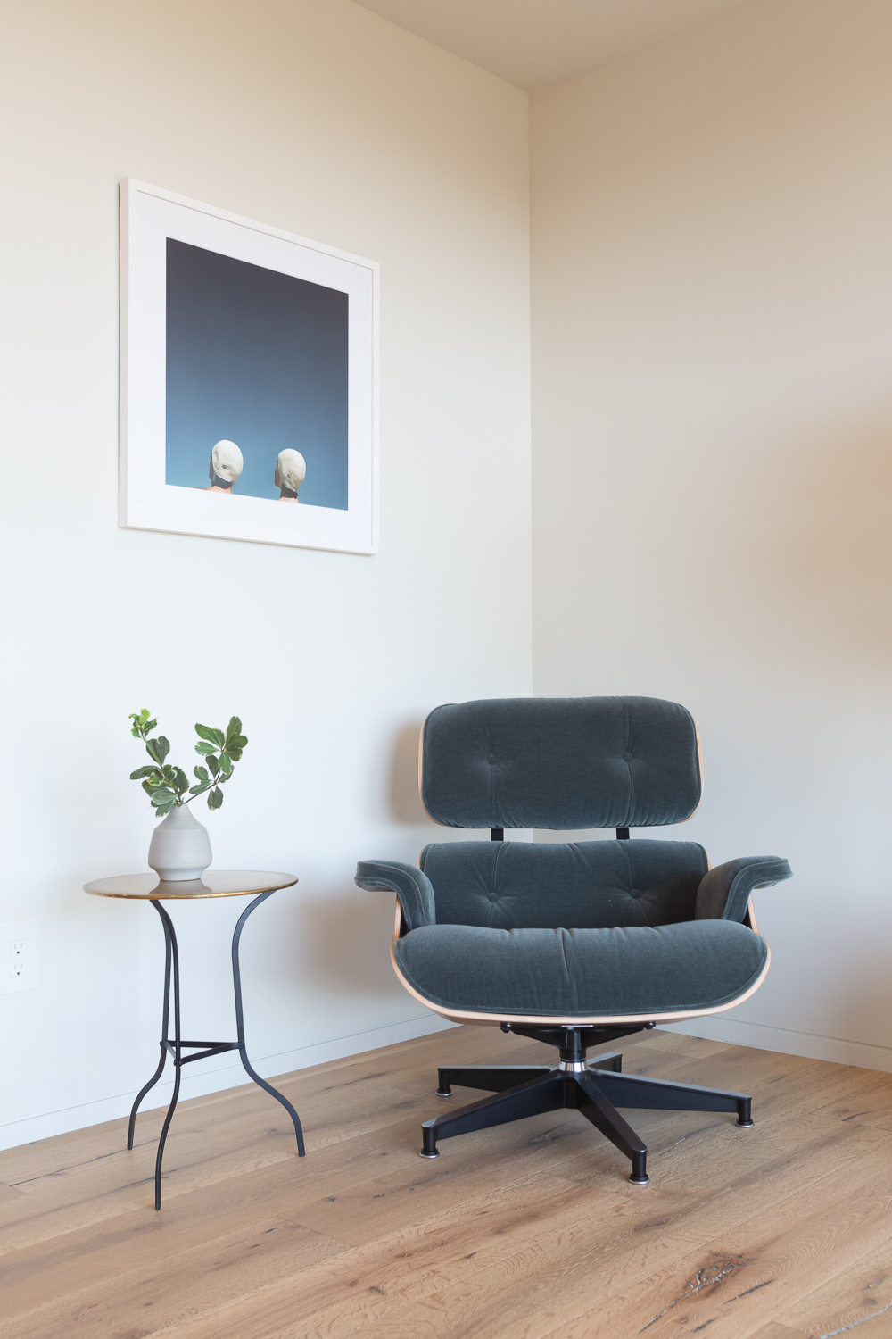 - design highlightsThe home includes collectible Scandinavian mid century furniture including pieces by Poul Kjaeholm, Niels O. Moller, Piet Hein and Bengt Ruda. Art curated by Tappan Collective and bedding by Parachute. All furniture, objects, art and accessories are available for purchase.