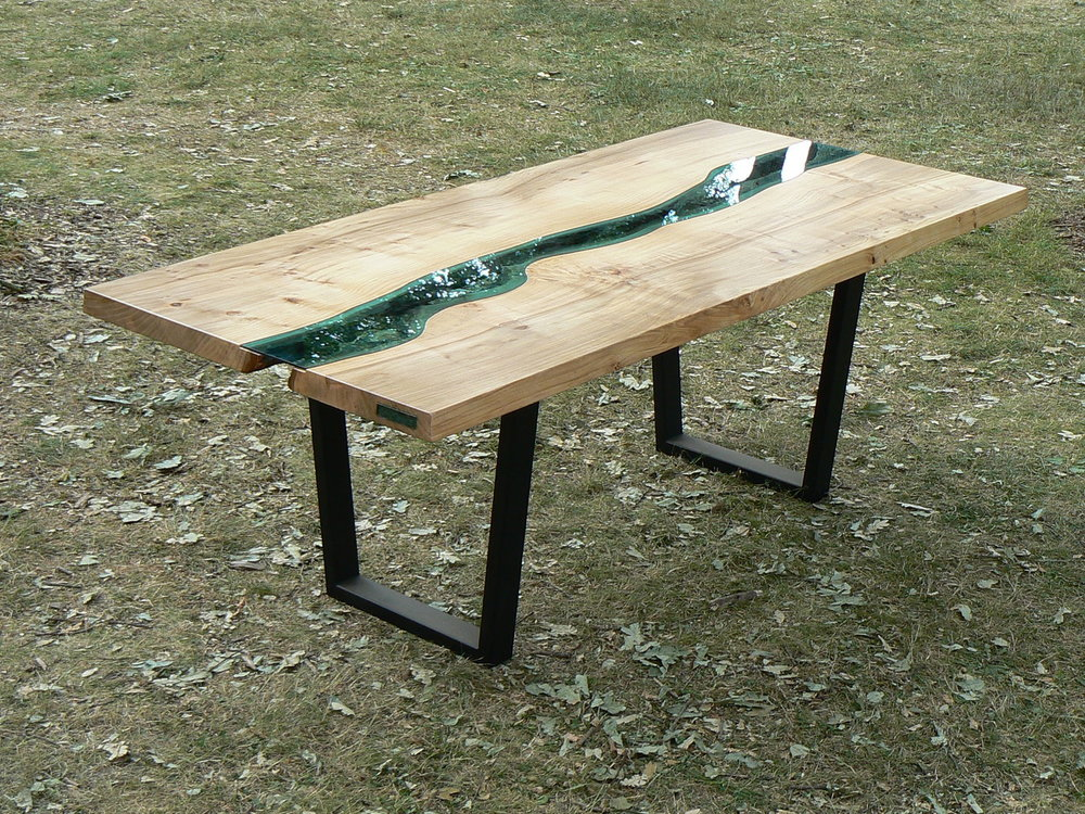 The First Ever River Table | Credit: Greg Klassen