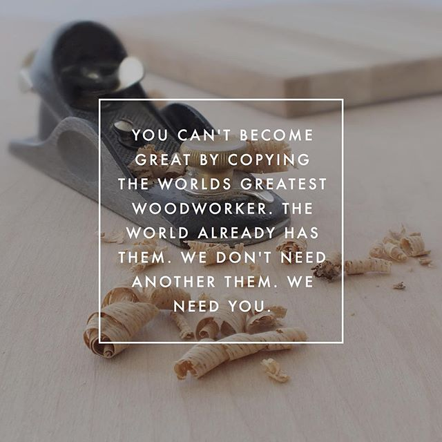 I'm paraphrasing this quote because I can't remember where I heard it. But I think it's pretty accurate and to the point. I had a good old ramble about being happy in your woodworking over on the site today🙄 Link is in bio if you're into that sort of thing. 😉😎 . . #woodworking #woodworking #woodworker #woodwork #DIY #doityourself #handmade #wood #woodshop #maker #madetomake #builder #build #makersgonnamake #makersmovement #sawdust #sawdustetc