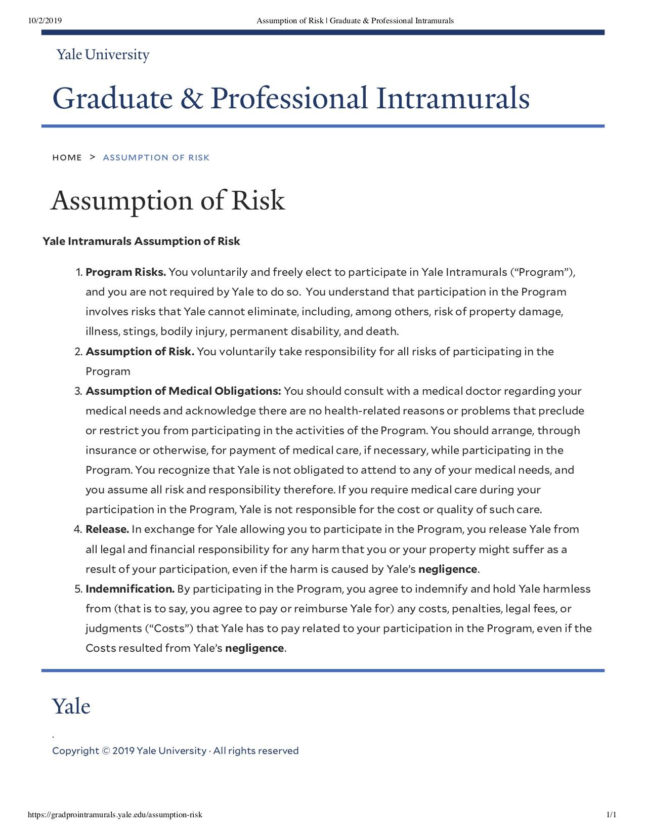 Assumption of Risk _ Graduate _ Professional Intramurals.jpg