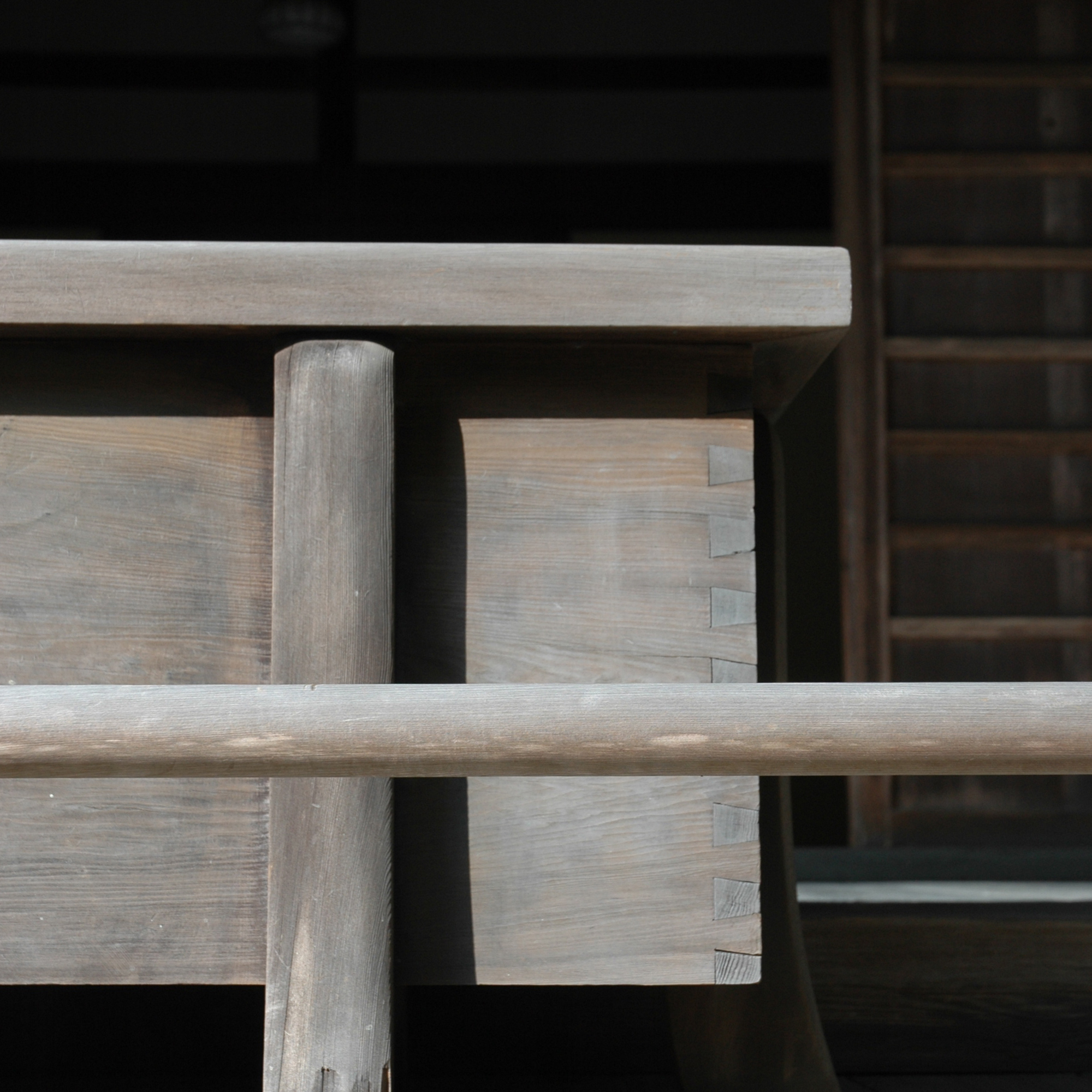assemblage — composition and craftsmanship. the organization of disparate elements and the elegance of joinery.