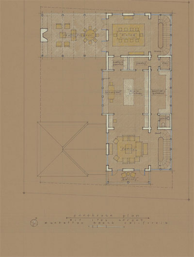 Proposed Floor Plan – Penthouse Level