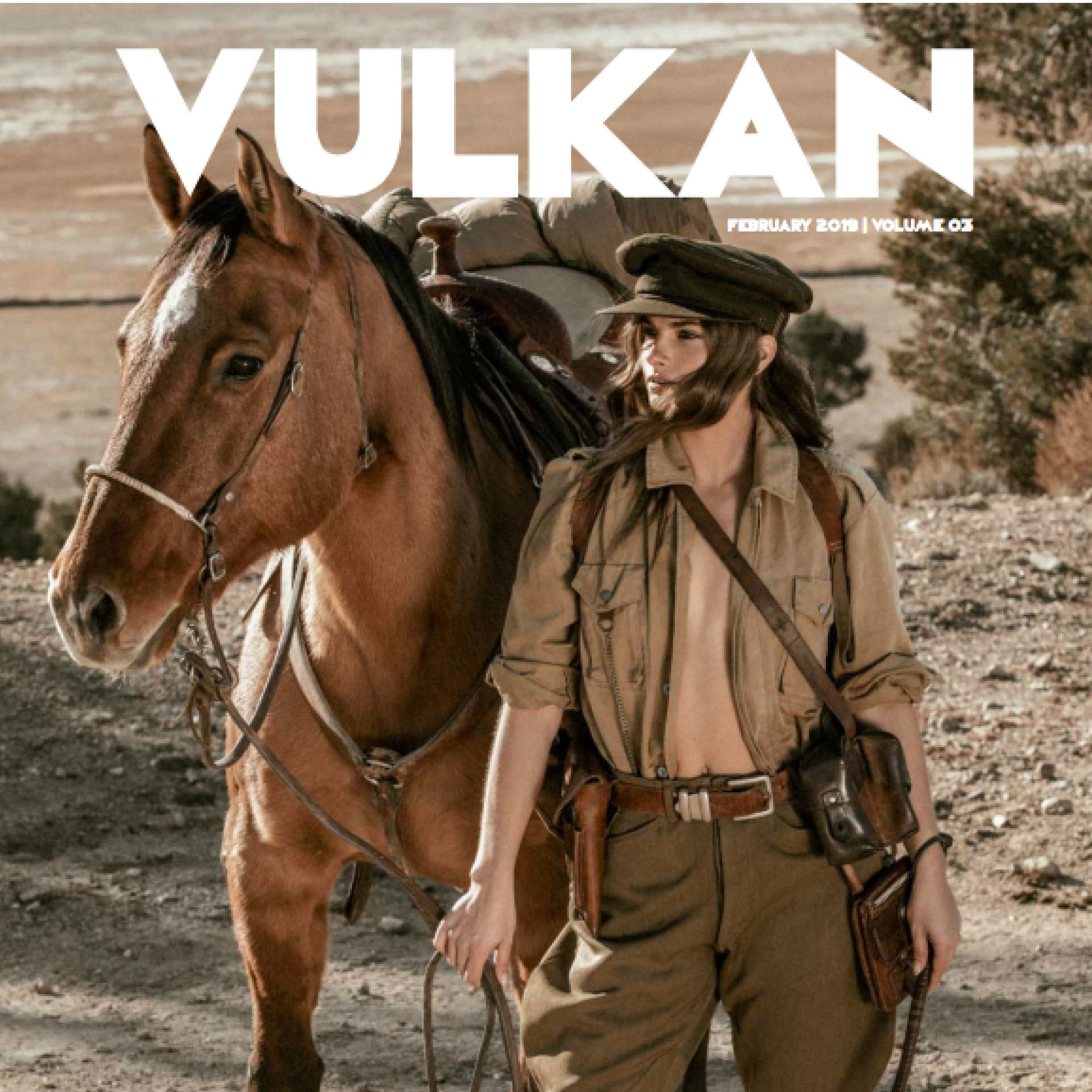 """""""revenant"""" for vulkan mag - This killer set was granted the cover and we're pretty stoked on the spread - channeling those old school western vibes this whole set seeps of nostalgia.Check It Out!"""