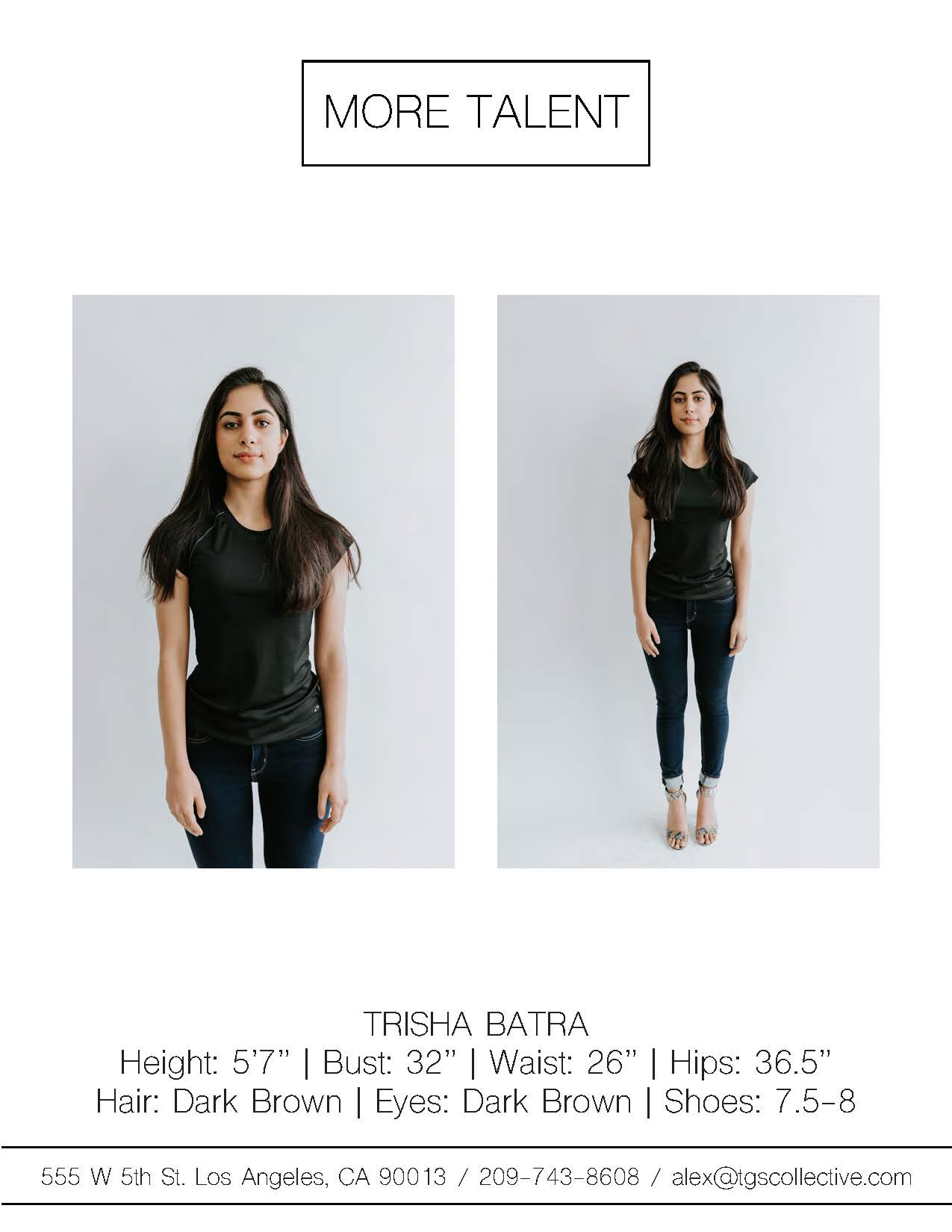 TRISHA BATRA MORE TALENT