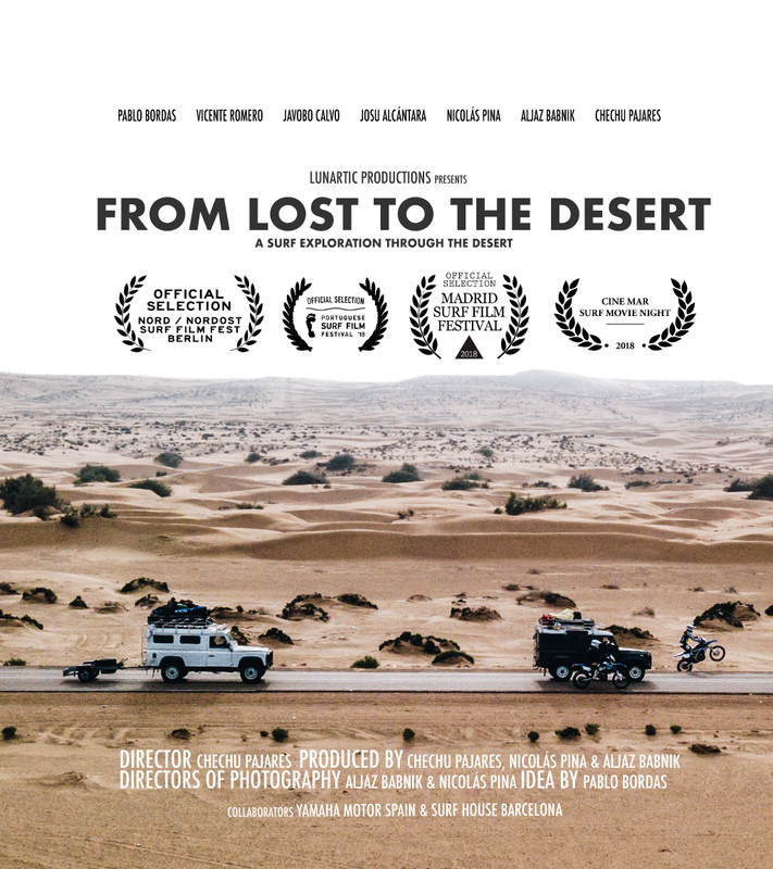 From lost to the desert - A surf exploration documentary project to one of the most remote places in the world, the desert of Morocco and Western Sahara.