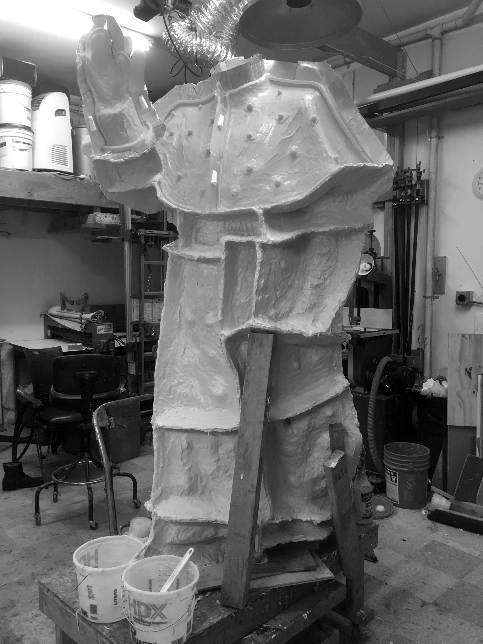 Making the Mold of the Body