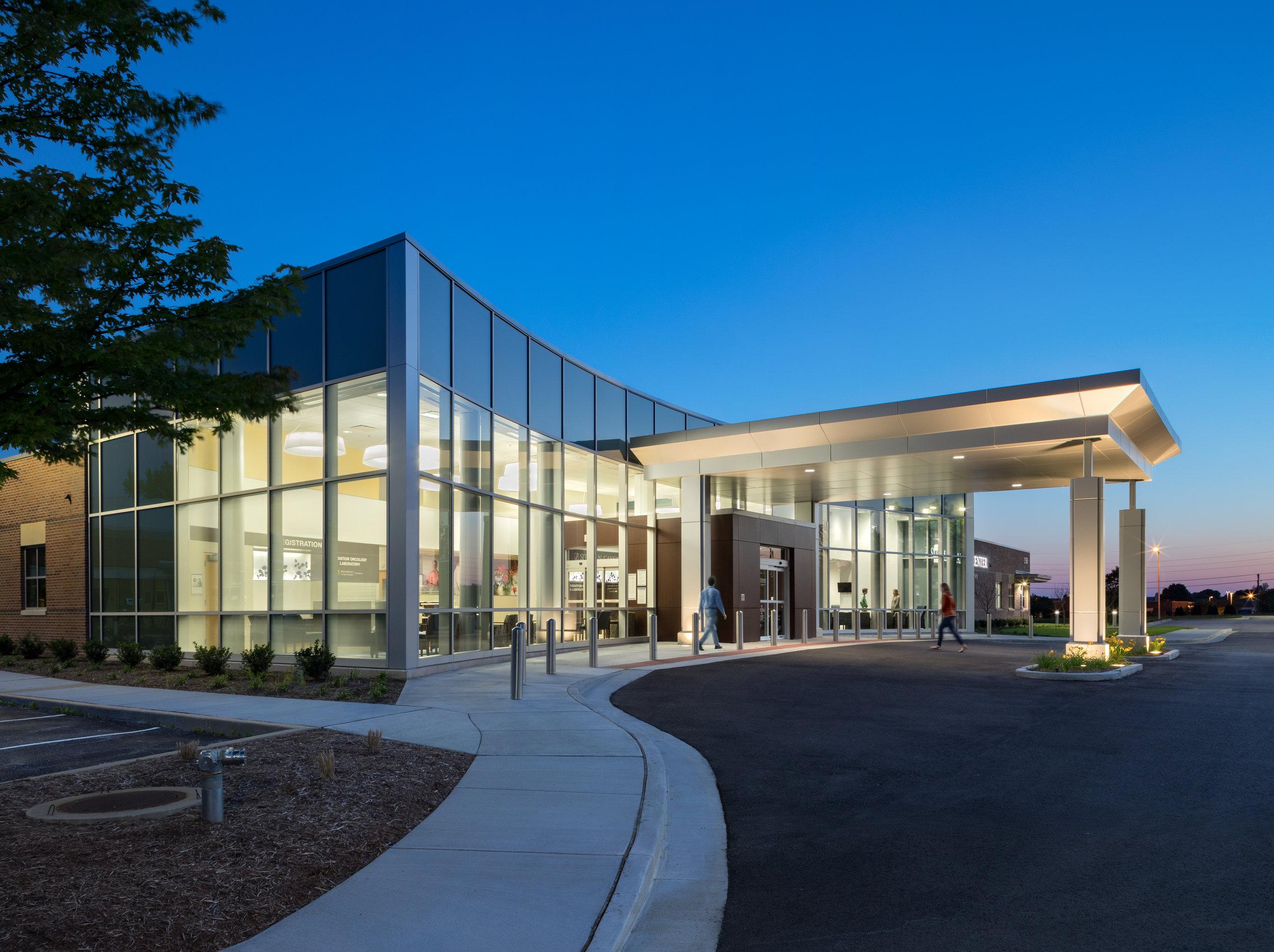 Siteman Cancer Center Evening Shot Exterior.jpg