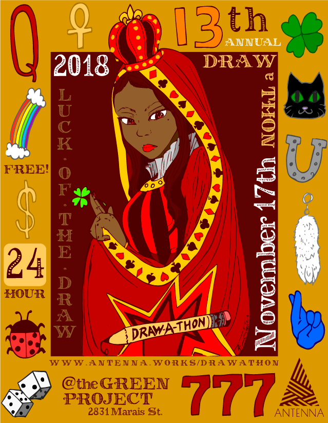 Official Draw-a-Thon 2018 Poster