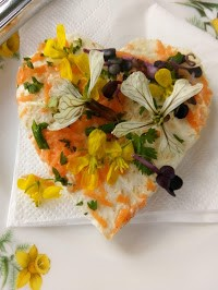 Photo: Nicky Ashby posted her 'Flower Garden Sandwich' from our high teas! Book yours today!