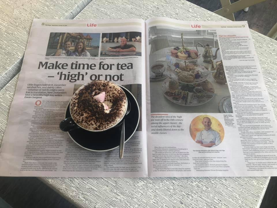 Media Coverage - It was a great highlight to be apart of stuff.co.nz and The Dominion Post hightea story!