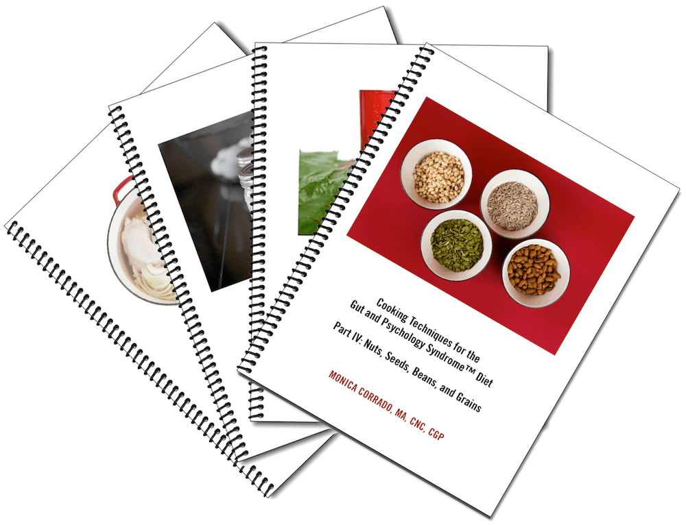 Check out all four of my books on Cooking Techniques for the Gut and Psychology Syndrome™ Diet at  Selene River Press