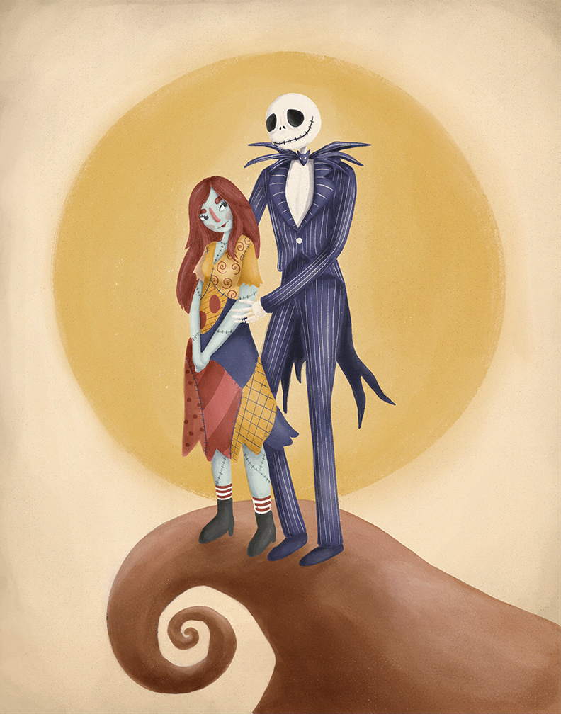 Jack & Sally: Nightmare Before Christmas
