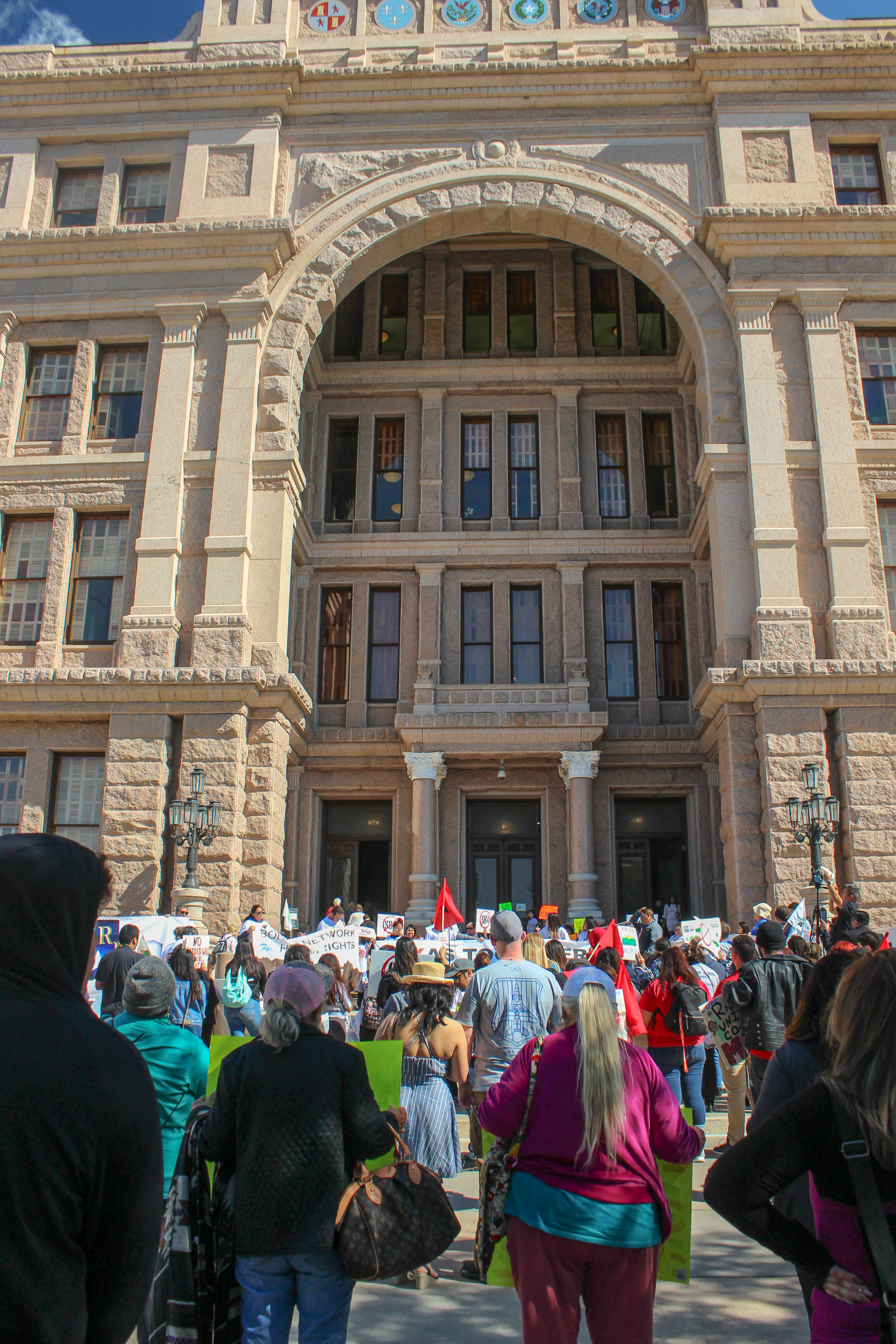 Texas Together Rally held March 2019 at the Austin, TX Capitol Building.