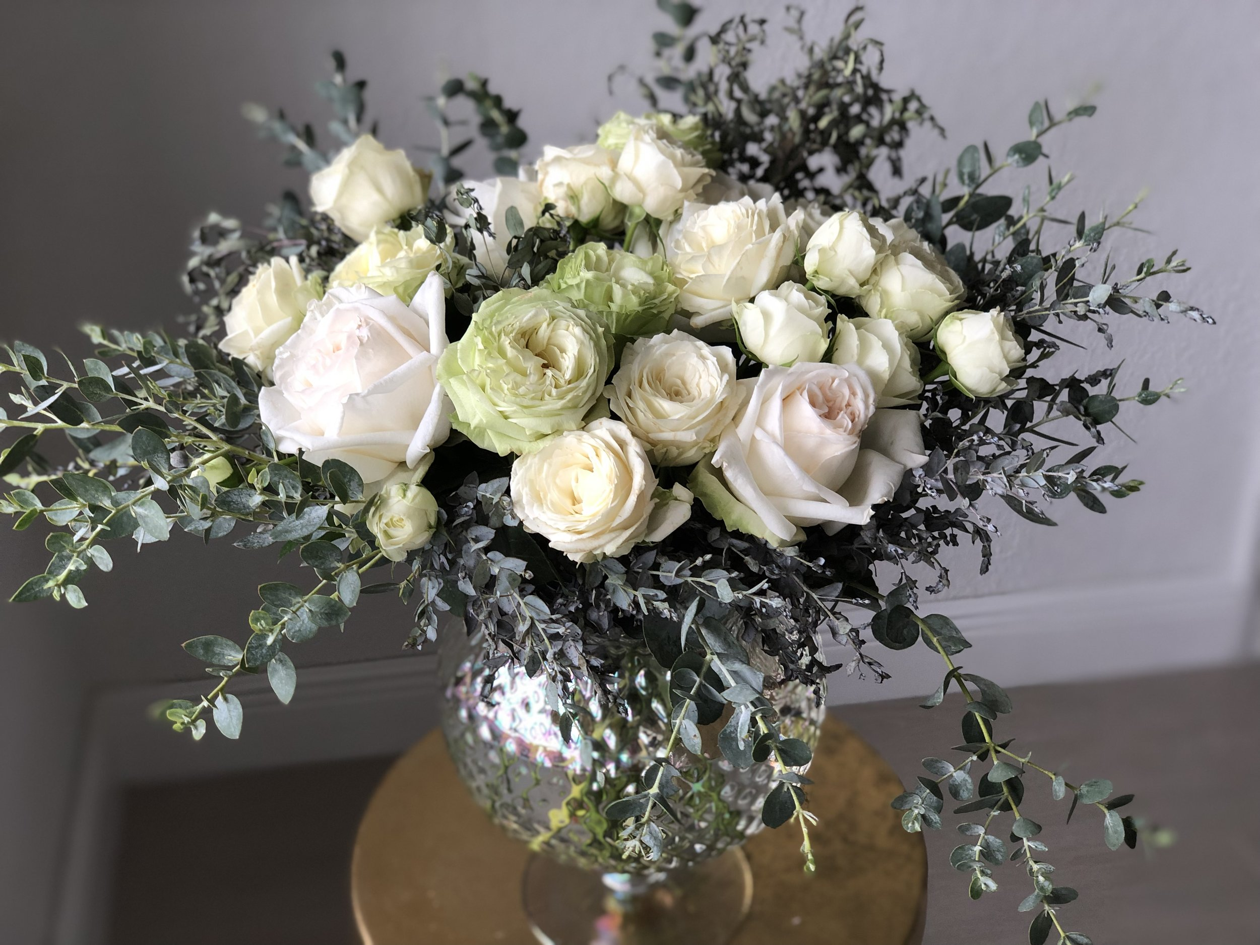 Arrangements - We offer a wide array of arrangements. We can also customize any size with your specific colors or flowers choice.