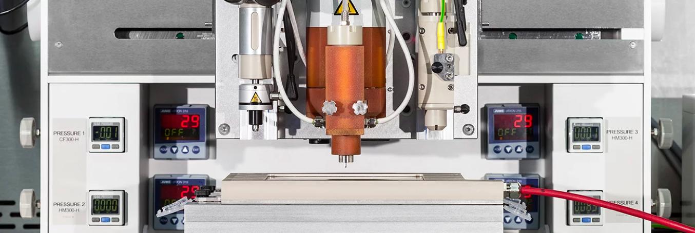 A 3D bioprinter. Source: RegenHU