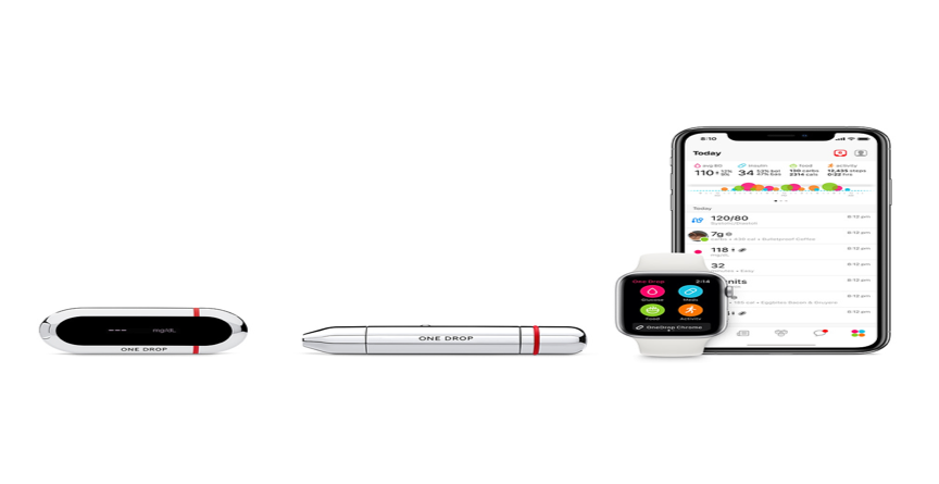 Source:  https://www.apple.com/shop/product/HMN02LL/A/one-drop-chrome-blood-glucose-monitoring-kit