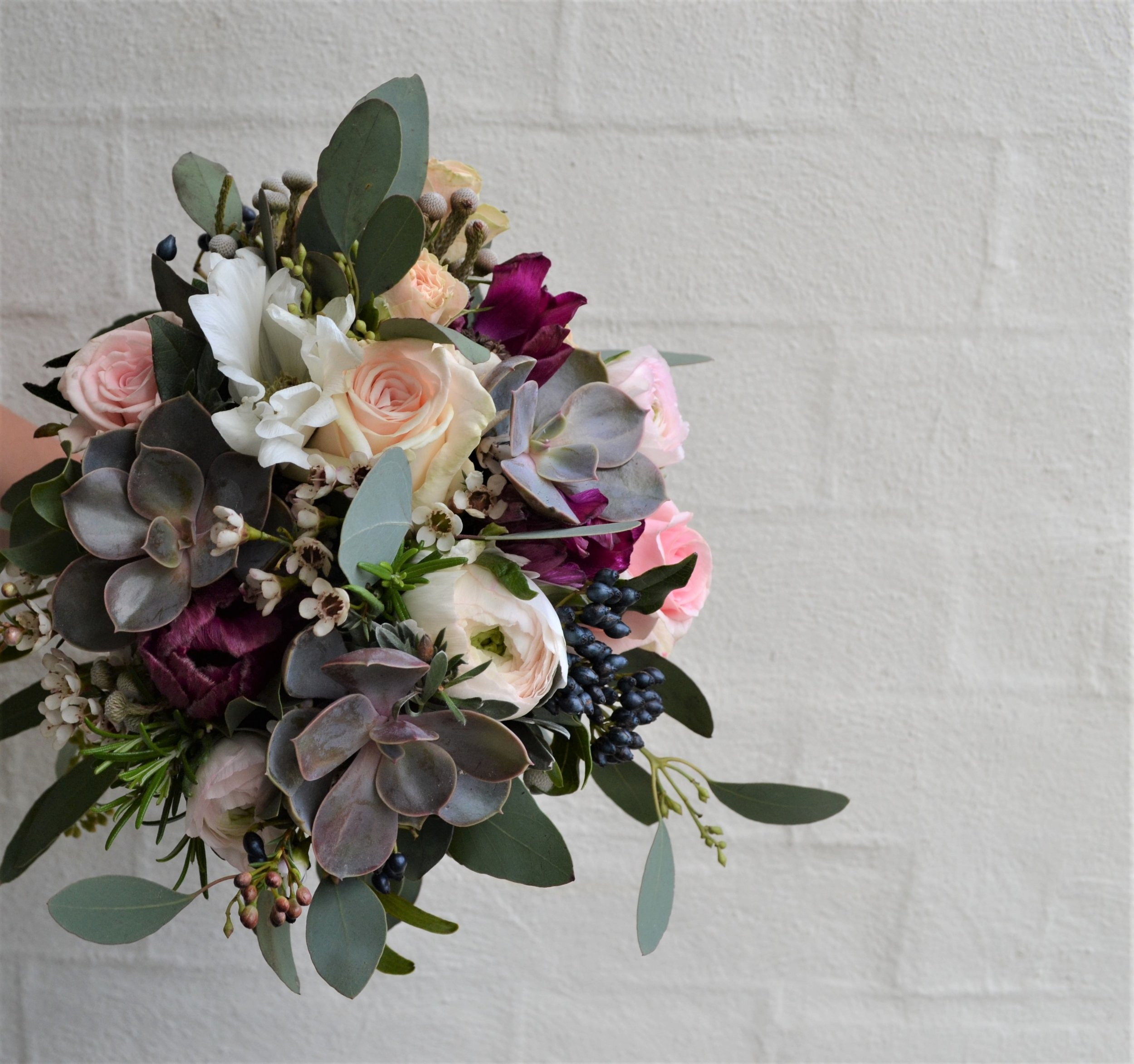 Brighton-Florist-Webb-Farrer-Bridal-Bouquet-Eucalyptus.JPG