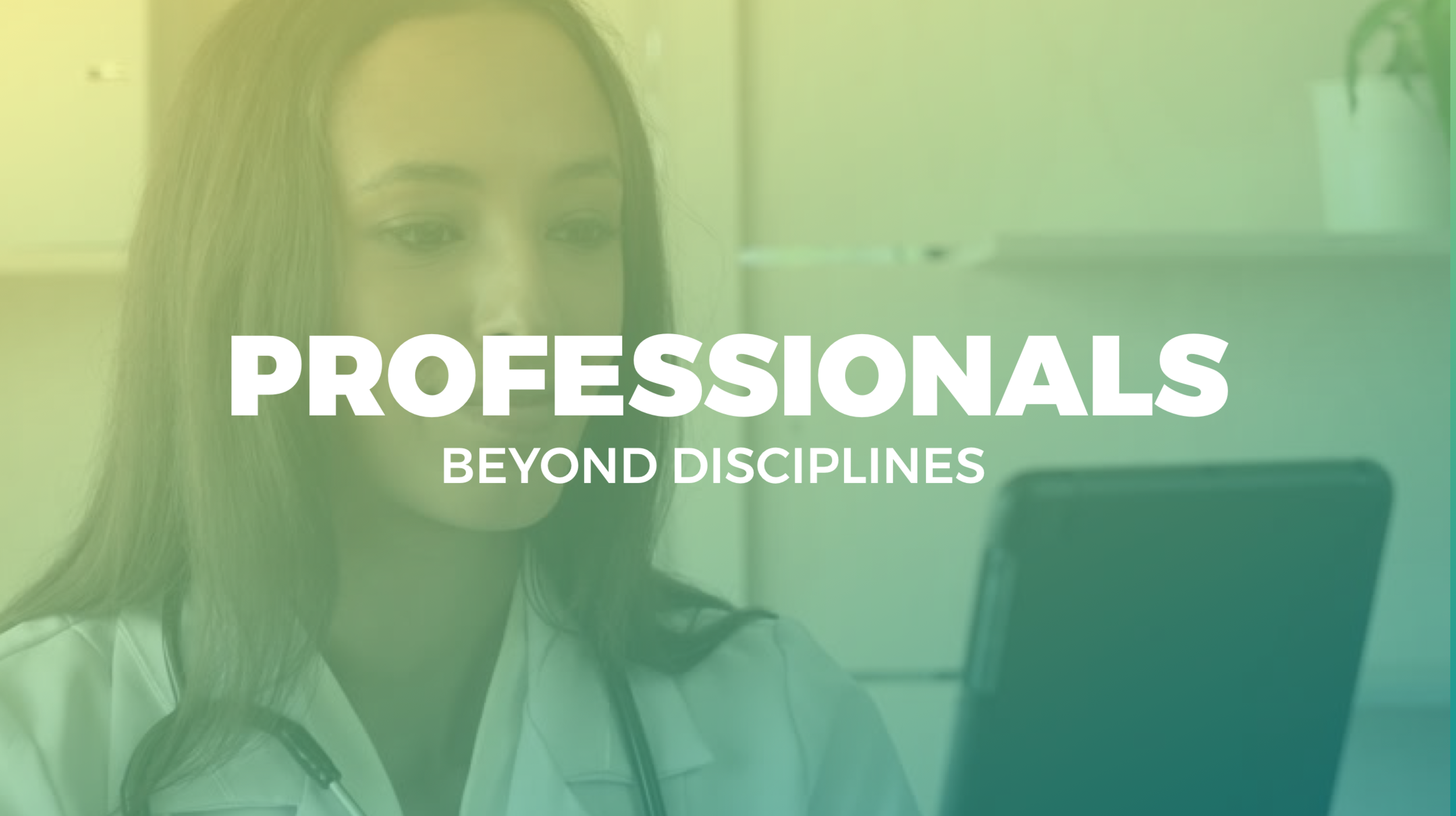 Discover the value in inter-professional learning, and learn from projects across disciplines.