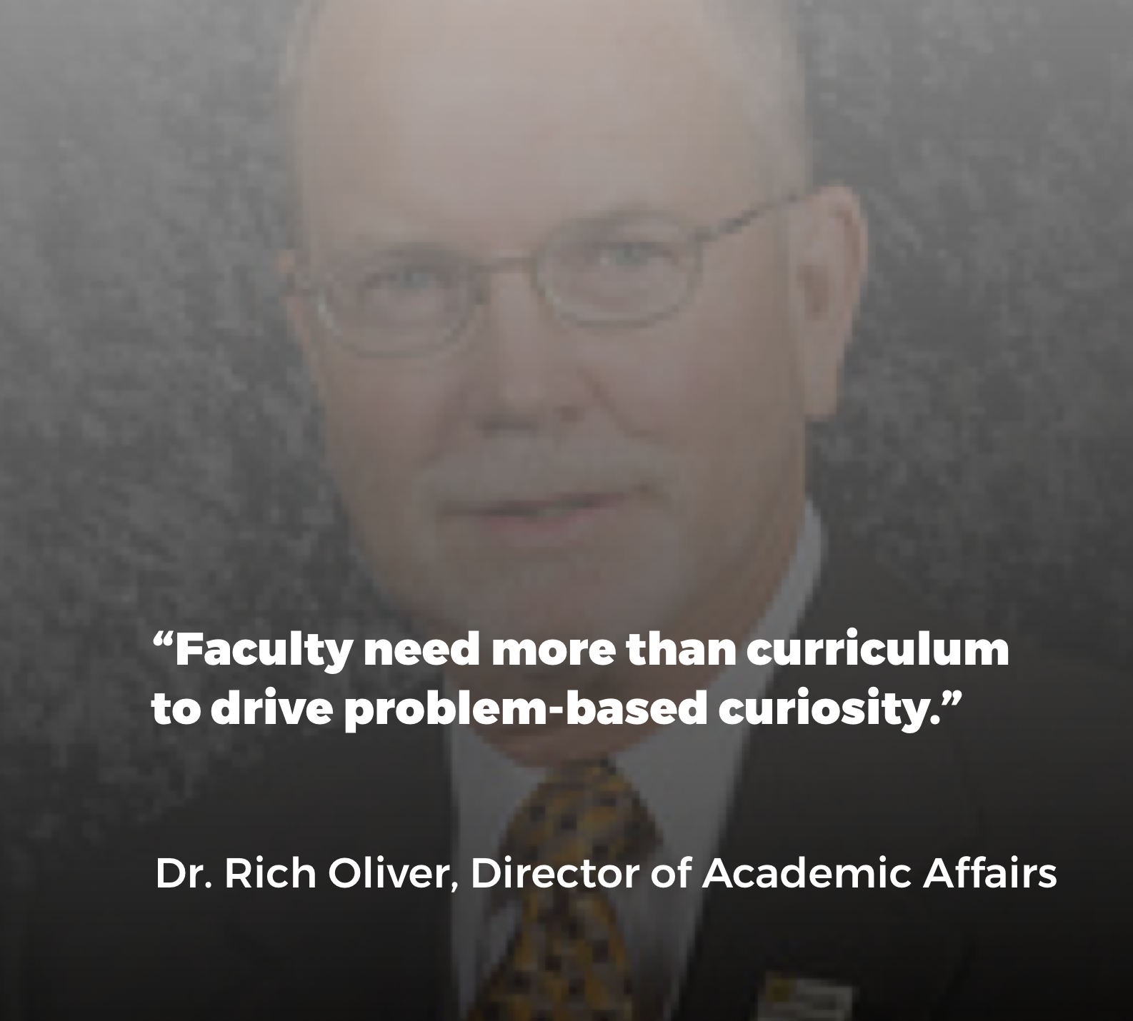 Read Rich's viewpoint on how higher-ed must knock down silos & change - HERE