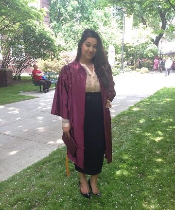 Brooklyn College Graduation in 2015