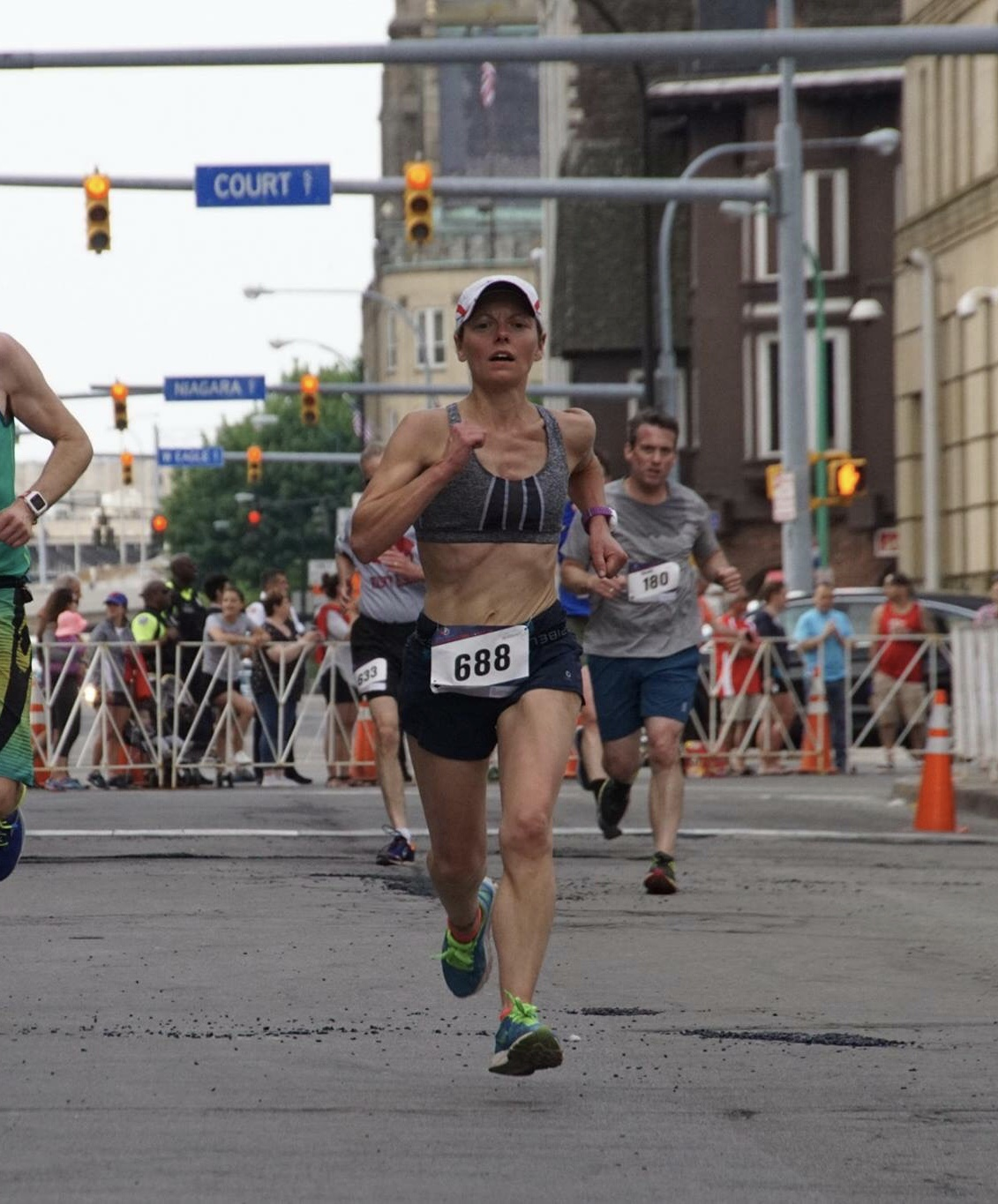 Photo: Diane Sardes. 2018 Buffalo Marathon Beishline 5K