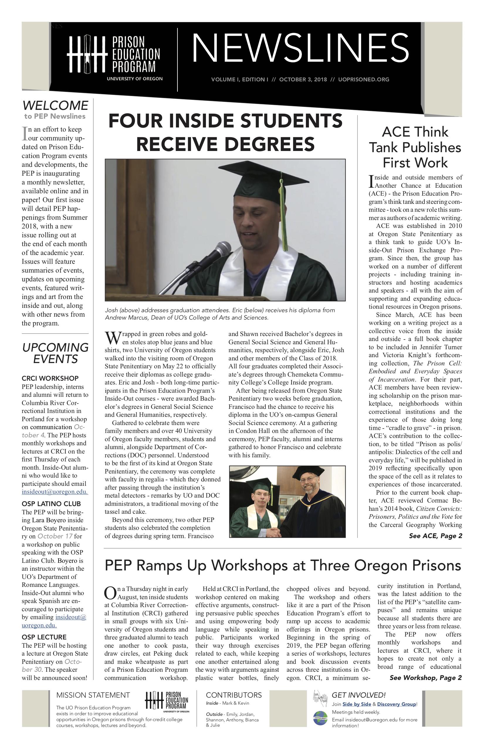 Prison Education Program Newslines v.1, ed.1.jpg