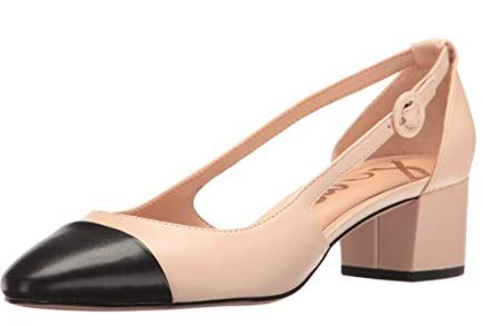 block heels - runs true to size