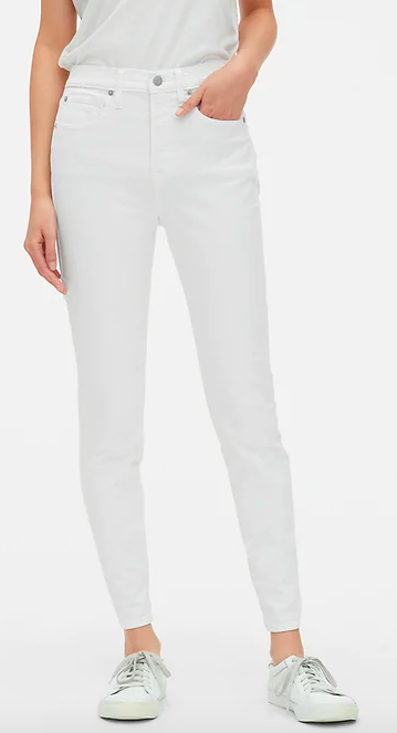 gap high rise true skinny jeans - i love gap denim, affordable and comfortable