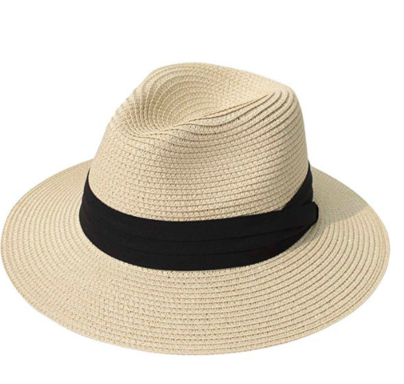 the panama hat i bring on every beach trip - rolls up and pops back into shape