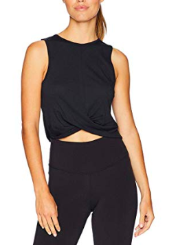 love this twist front tank top on amazon -